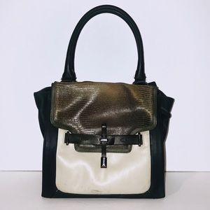 🐍 Vince Camuto color block satchel